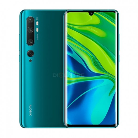 Смартфон Xiaomi Mi Note 10 Pro 8/256GB (Global) (зеленый, Aurora Green)