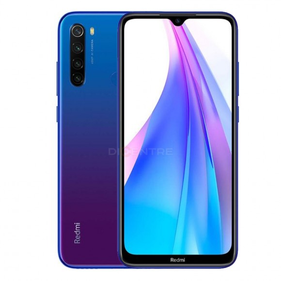Смартфон Redmi Note 8T 4/128GB (EAC) (голубой, Starscape Blue)