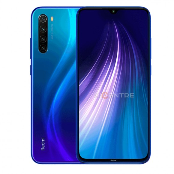 Смартфон Xiaomi Redmi Note 8 4/128GB (EAC) (голубой, Neptune Blue)