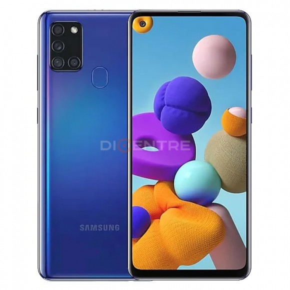 Смартфон Samsung Galaxy A21s 3/32Gb  (синий, Blue)